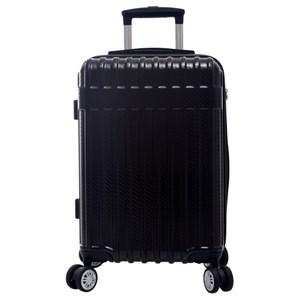 羅森可擴充行李箱20吋 黑