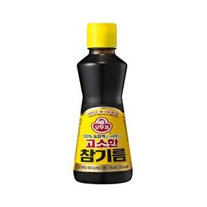 韓國不倒翁100%純芝麻油160ml