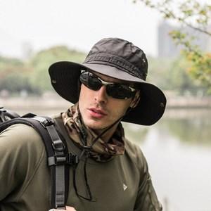 PUSH!戶外用品戶外登山帽折疊遮陽帽夏季速乾漁夫帽H31黑色黑色