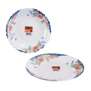 【法國ARCOPAL】現代藍強化餐具二件組