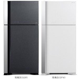 【HITACHI 日立】570L變頻琉璃兩門冰箱 RG599B琉璃灰
