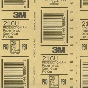 高耐磨砂紙-80號-5張