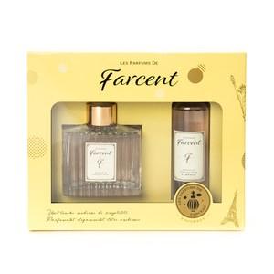 Farcent香水室內擴香組-小蒼蘭&英國梨