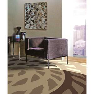 暖流地毯160x230cm 炫渦