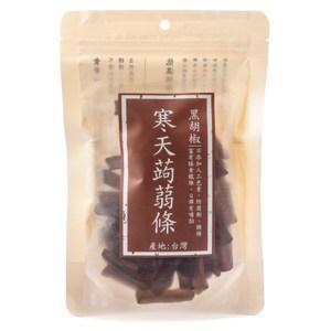 寒天蒟蒻條 黑胡椒 175g 純素 在地鮮果乾