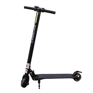 CARSCAM行車王 F7 雙避震碳纖維折疊式電動滑板車黑色
