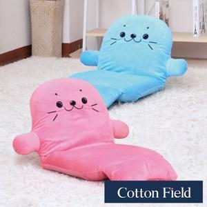 棉花田【凱蒂】多段式折疊和室椅-2色可選藍