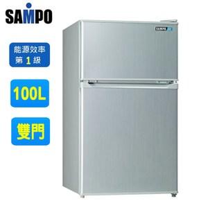SAMPO聲寶100公升定頻節能冰箱 SR-P10G(含運不含拆箱定位)