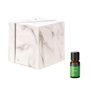 (組)立方白精靈香氛水氧機x1+SH美國精油-茶樹x1