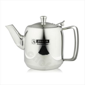 斑馬牌不鏽鋼冷泡茶壺附濾網1L咖啡壺冷水壺