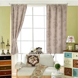 【三房兩廳】花逸雙面印花遮光窗簾-200X165cm