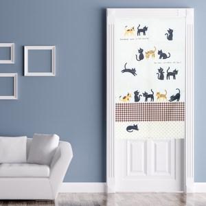 貓咪樂園長門簾90x150cm