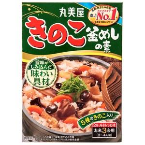日本丸美屋釜飯料-綜合菇