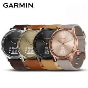 GARMIN vivomove HR 典雅款 指針智慧手錶  敲敲系列深邃黑 (全尺寸)