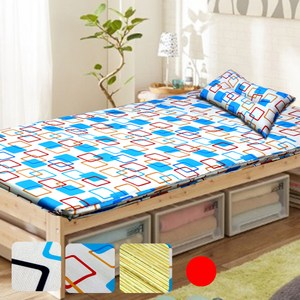 KOTAS  冬夏透氣床墊 單人 3尺送記憶枕1顆 單人床墊-紅單人