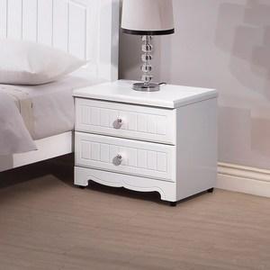 【YFS】伊森白色床頭櫃-49x43x46cm