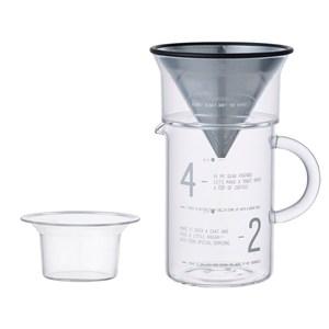 SCS 簡約咖啡沖泡壺組 600ml