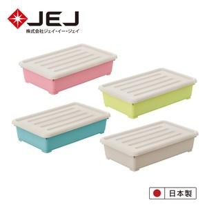 日本JEJ Pianta拼搭組合收納箱/ 64淺 4入(4色一組)