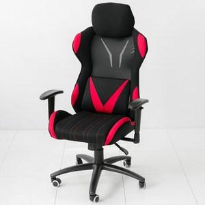 【STYLE 格調】格雷曼APK-90超跑電競椅-加寬頭枕(透氣椅背)黑紅