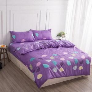 【BARNITE】夏天的夢棉感絨四件式兩用被床包組(雙人)