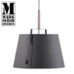 【MARKSLOJD】LEGEND 北歐傳奇經典吊燈經典黑底灰罩木頭