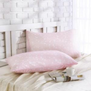 MONTAGUT-冰絲涼感枕頭套(蘆葦花-粉色)