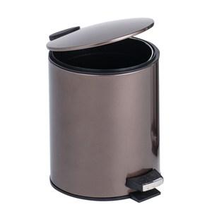 HOLA 里昂金屬緩降垃圾桶-12L