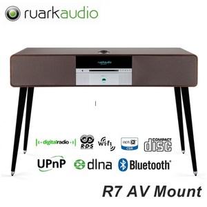 英國Ruark Audio藍芽/CD/收音機音響R7(消光黑)