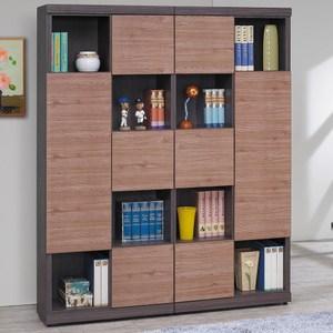 【obis】凡賽斯柚木雙色書櫃組(柚木色 雙色 書櫃組)柚木色