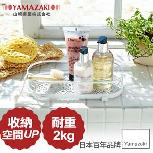 日本【YAMAZAKI】典雅雕花置物架(白)