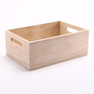 萊爾原木手作木箱 小