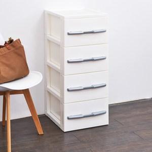德式簡約四層收納置物櫃(單層26L)-DIY-灰