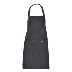 【三房兩廳】時尚可調整肩帶長度工作圍裙2件(工作圍裙) -黑色2件