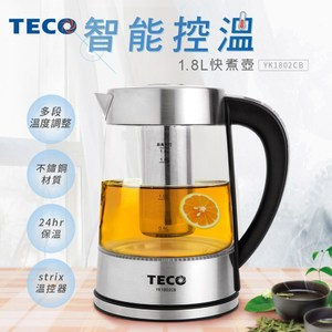 TECO東元 1.8L智能溫控快煮壺 YK1802CB