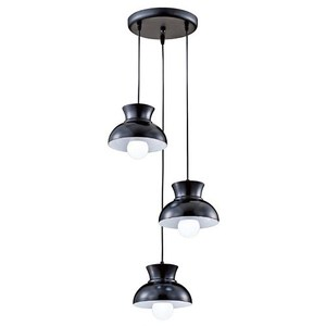YPHOME 北歐風圓盤三吊燈 S84591H