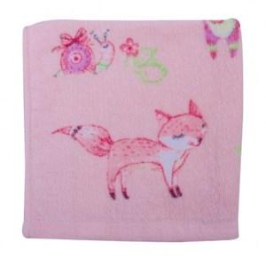彩繪樂園印花方巾