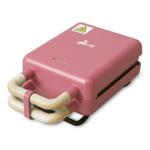Giaretti吉爾瑞帝二合一熱壓三明治鬆餅機(玫瑰)GT-SW01
