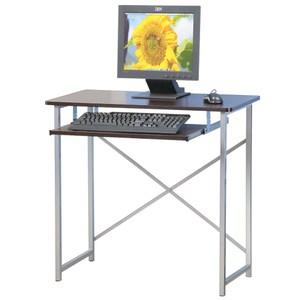 【Homelike】超值電腦桌(二色可選)胡桃木