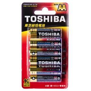 TOSHIBA 東芝 鹼性3號10入卡 AA 1.5V 型號LR6