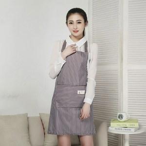 【三房兩廳】時尚袖套防水圍裙/工作圍裙 (咖啡色2件)