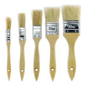 五件式油漆毛刷組