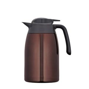 【膳魔師】1500ml不銹鋼真空保溫壺 咖啡色 THV-1500-CBW