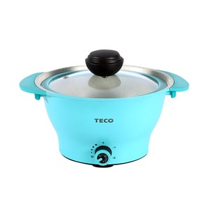 【TECO東元】2公升無水料理美食鍋(YP2001CBB)-藍色