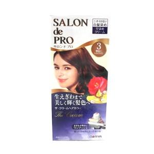 日本dariya沙龍級ONE PUSH白髮染髮乳(#3淺棕色)*3