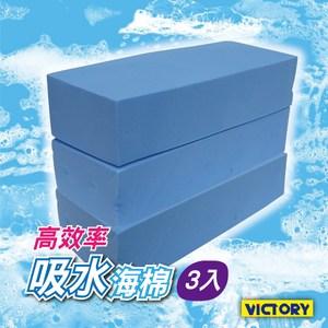 【VICTORY】高效率吸水海綿-大(3入組)
