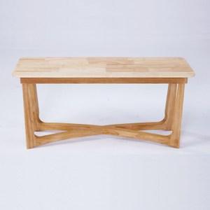 北歐實木靜覓系列長凳1.3m 原木色