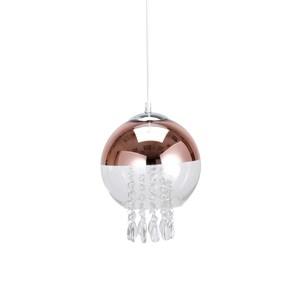 玫瑰金水晶單燈吊燈