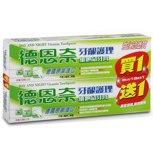 【買六送六】德恩奈牙齦護理牙膏126g(共12支)