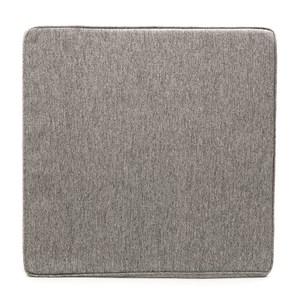 HOLA 斜紋滾邊坐墊55x55x15cm 灰綠色