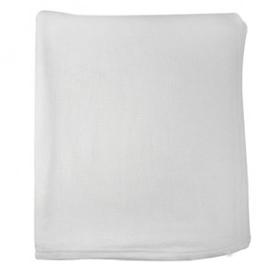 夏米爾竹纖維織毯玉石白